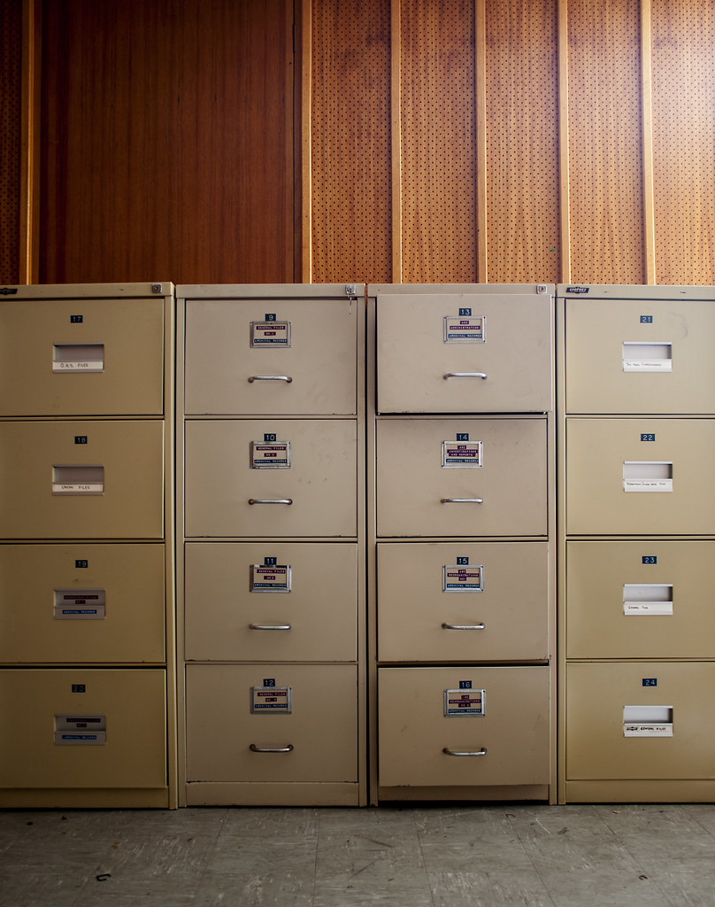 ... ABC SA, Archives Building, Filing Cabinets | By Eugenenoodleman