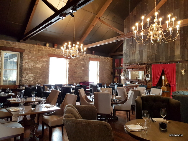 Dining room of the The Flour Mill Restaurant
