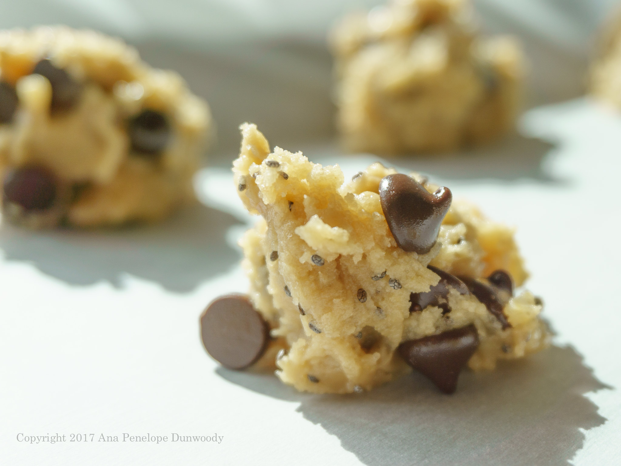 Chocolate Chip Chia Seed Cookie Dough