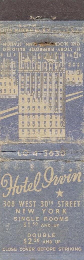 Hotel Irvin - New York, New York