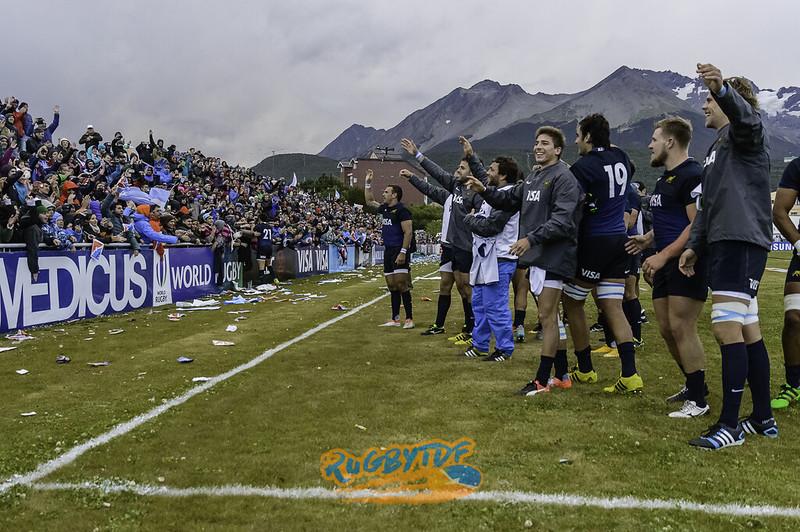 Volvelo a ver: Argentina XV vs Brasil en Ushuaia