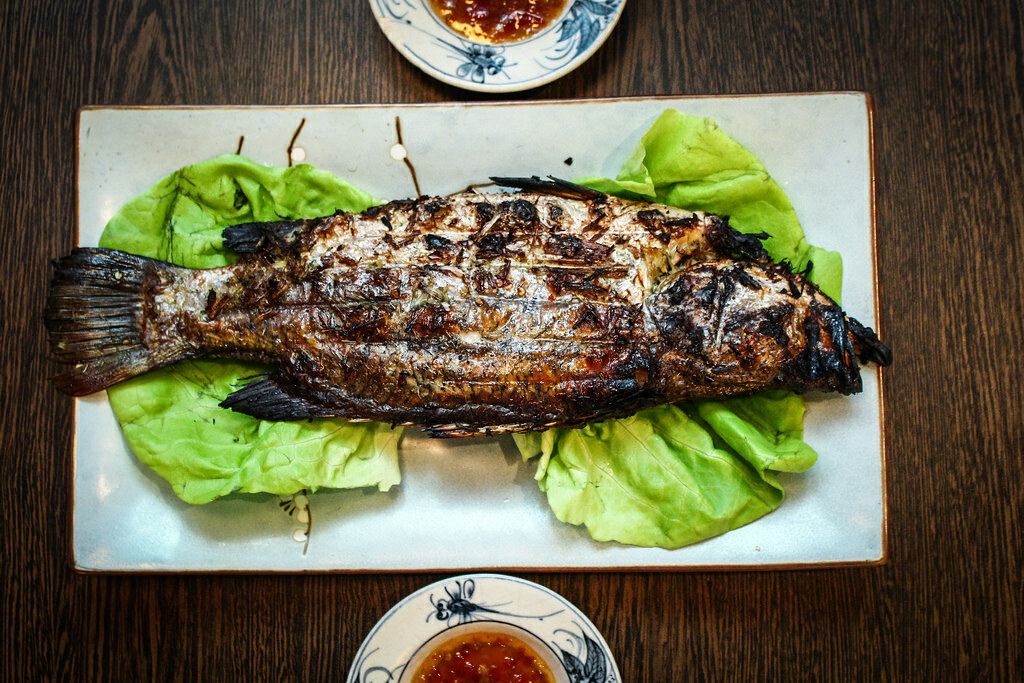 Vietnamese Food: Tonkin Authentic Vietnamese Cuisine Fish