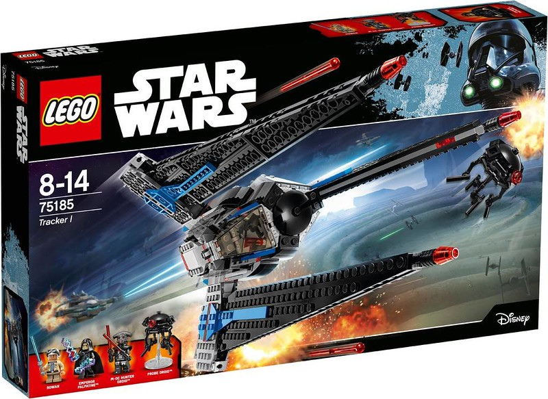 LEGO Star Wars Estate 2017 - Tracker I (75185)