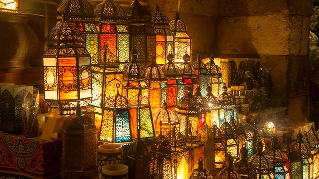 The colorful lanterns of Khan El-Khalili