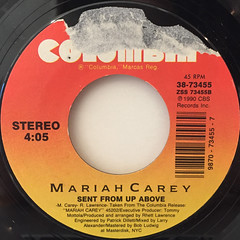 MARIAH CAREY:LOVE TAKES TIME(LABEL SIDE-B)