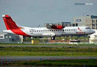 ATR.72-600 AVIANCA ARGENTINA F-WWEU 1425 TO LV- 03 04 17 TLS 1