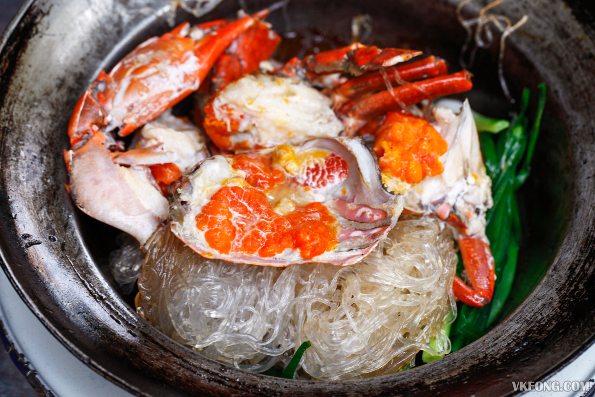 Somsak Pu Ob Crab Roe Vermicelli