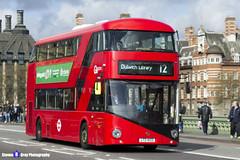 Wrightbus NRM NBFL - LTZ 1433 - LT433 - Dulwich Library 12 - Go Ahead London - London 2017 - Steven Gray - IMG_8460