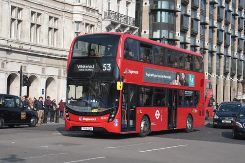 Stagecoach London 12377 YX16OGR