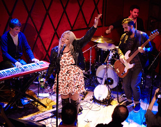 Elle King at FUV Live at CMJ 2014 | by wfuv