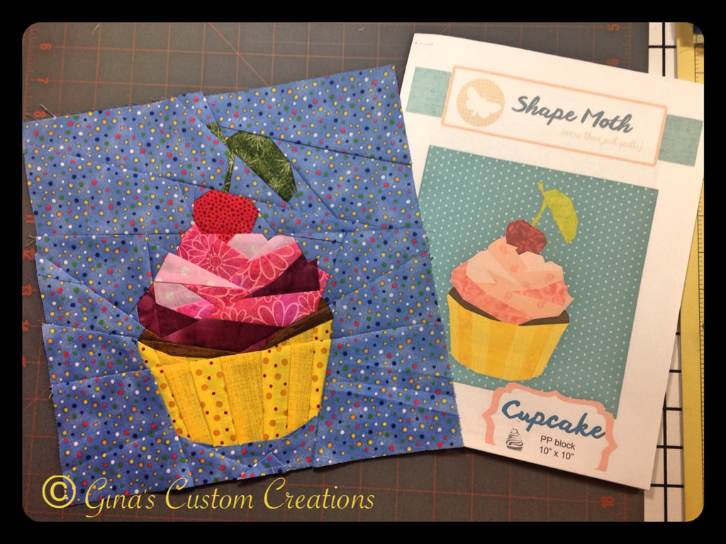 My paper pieced Cupcake quilt block | I used a pattern desig… | Flickr : cupcake quilt block - Adamdwight.com