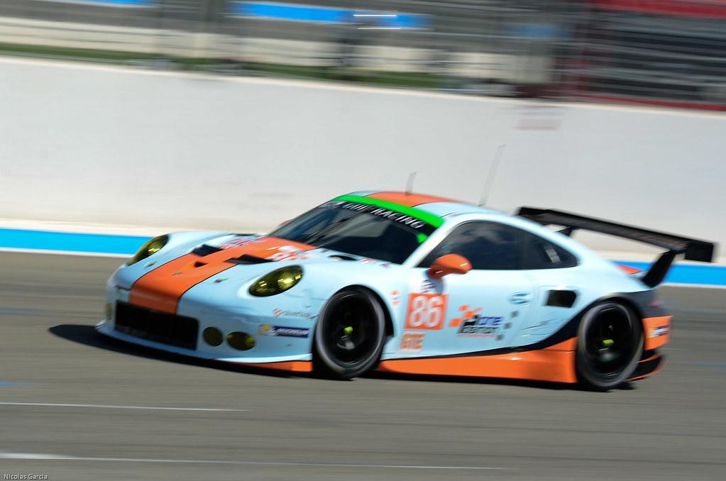 Gulf Porsche 911 991 RSR | #86 Gulf Racing UK - Porsche 911 … | Flickr