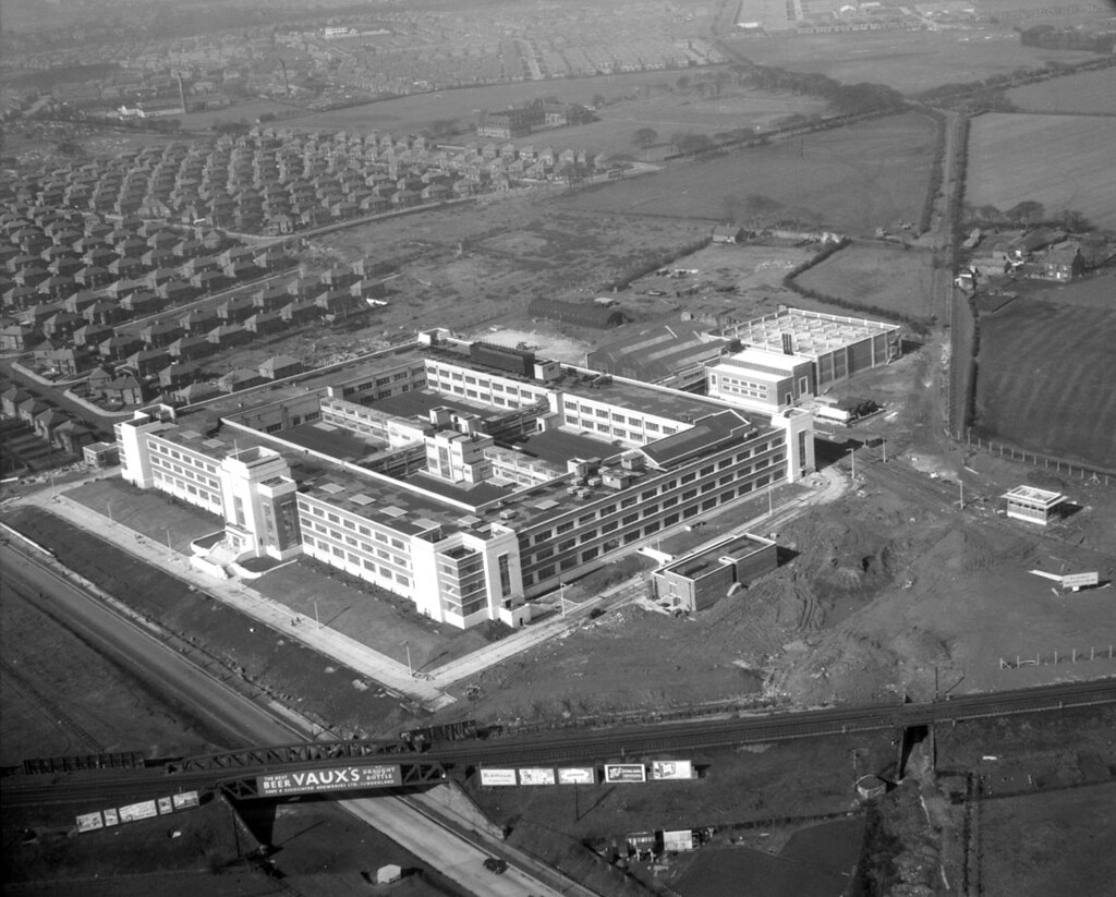 Wills Tobacco Factory Newcastle Upon Tyne 1950