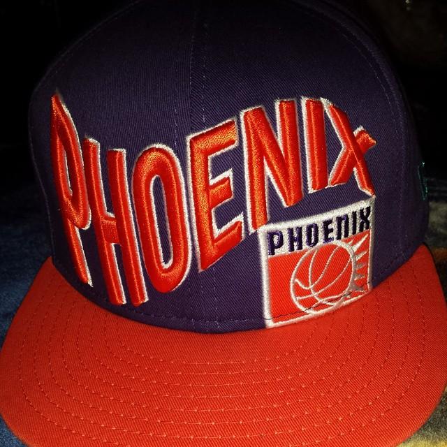 Cap At Work  Phoenix Suns snapback. Got this cause I wante…  7e36ab4e01e