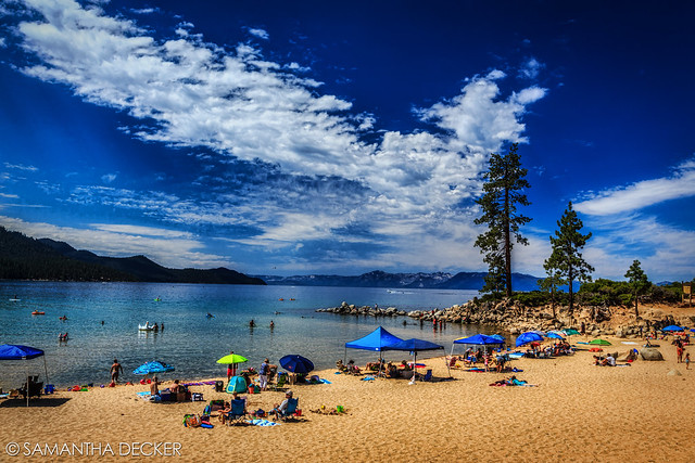 Sand Harbor Beach in Lake Tahoe