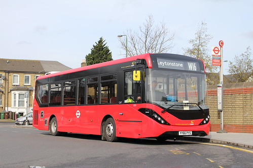 CT Plus 1247 on Route W16, Leytonstone Station