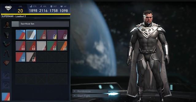 Injustice 2 - Superman Sacrificial Son