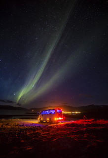 Northern Lights tour in Iceland