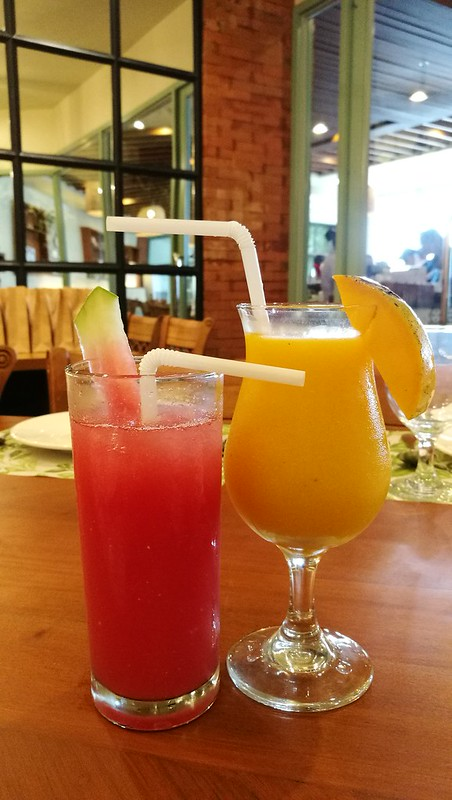 DavaoFoodTripS.com | Mango & Watermelon Shake - Sundays Modern Home Cooking at Go Hotels Davao