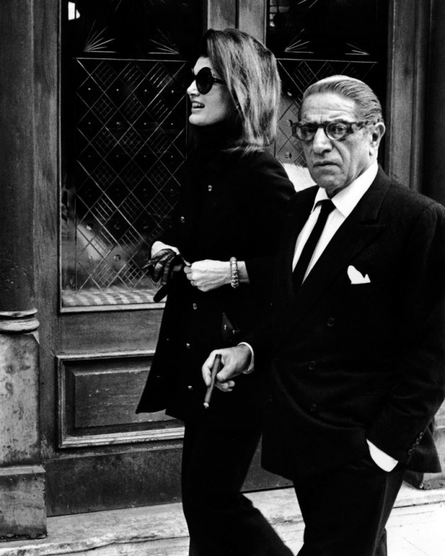Ron Galella, Jacqueline Kennedy and Aristotle Onassis 1971