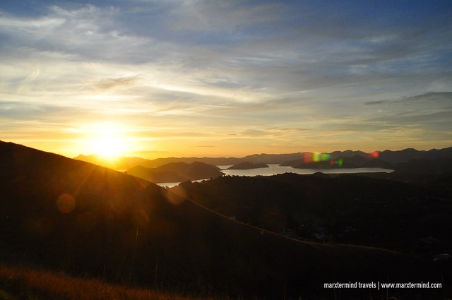 Sunset at Mount Tapyas Coron