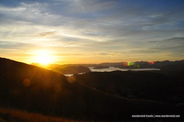 Sunset at Mount Tapyas Coron