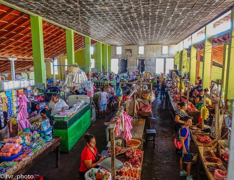 Interior Mercado de Granada, Nicaragua