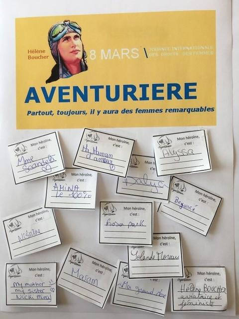 Le lycée professionnel Hélène Boucher a célébré la journée du 8 mars