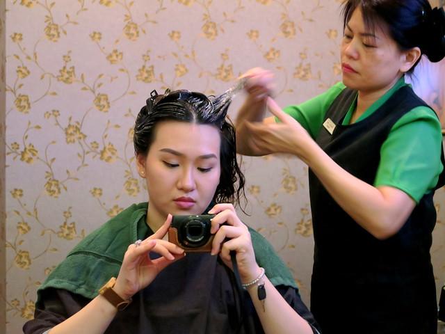 Beijing 101: Protein hair mask