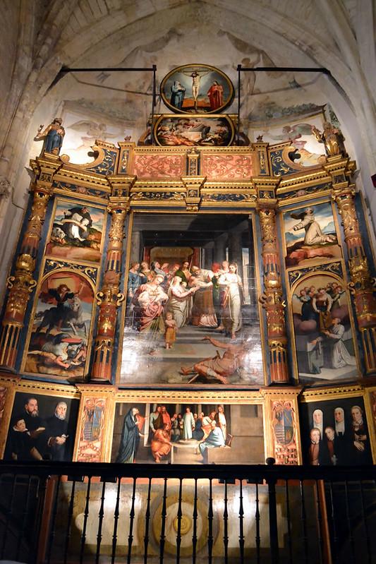 Retablo de la Purificación de la Virgen de Pedro de Campaña