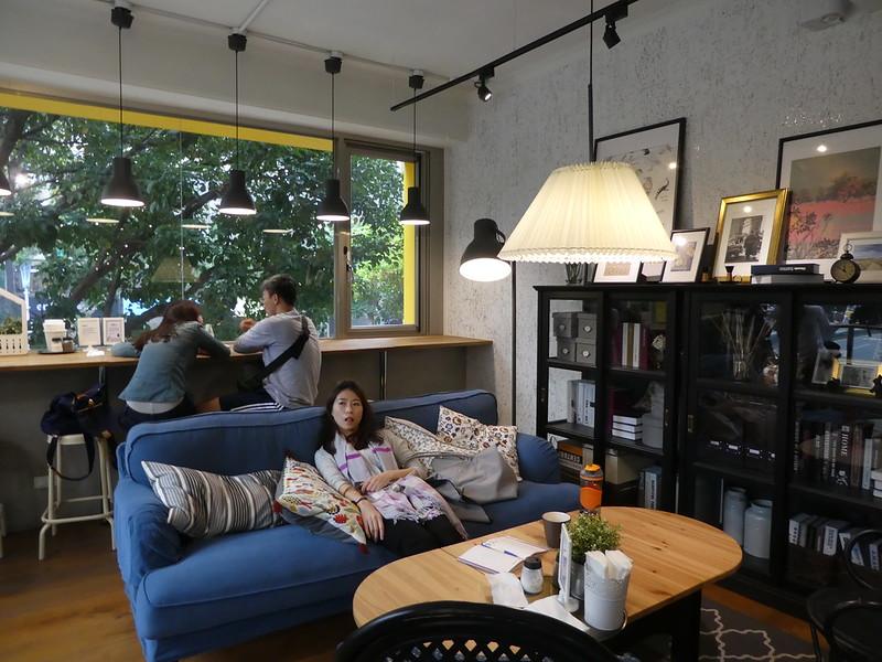 The IKEA House living room. Taipei