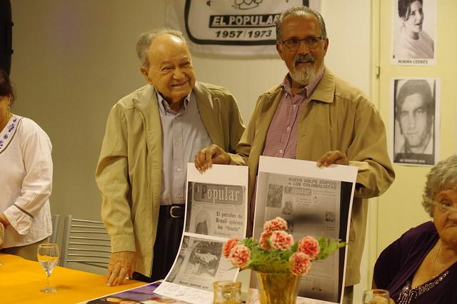 Homenaje a Niko Schavrtz y EL POPULAR