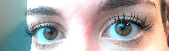 Benecos mascara eyeliner