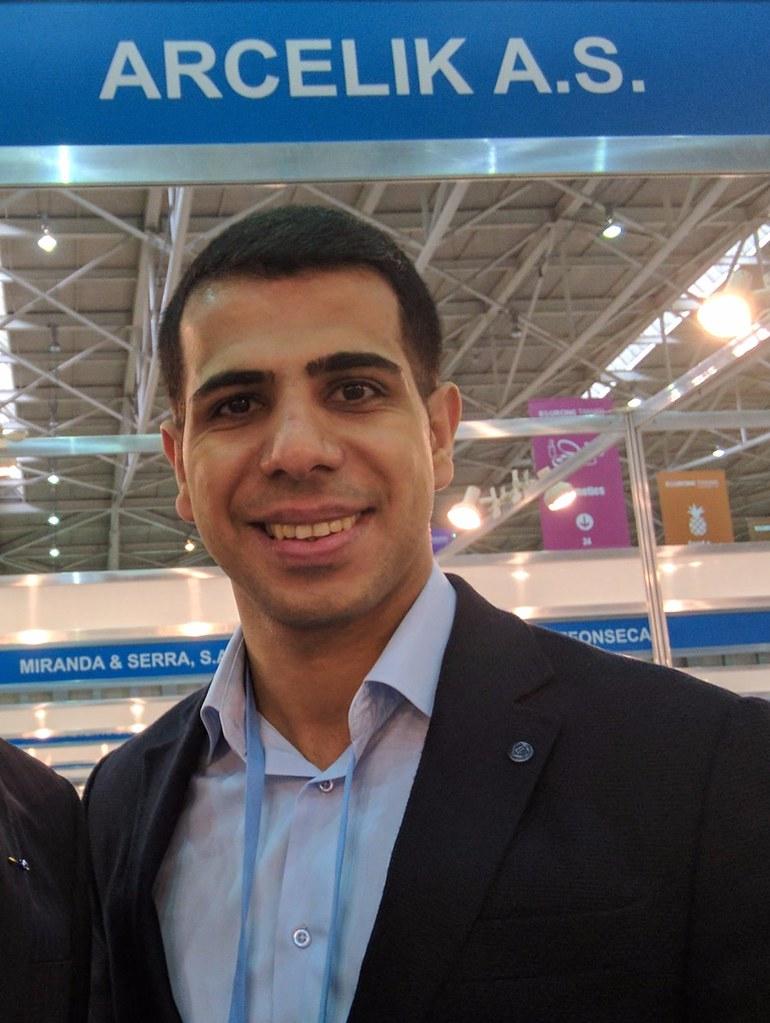 再遇見土耳其白色家電大廠阿奇立克公司(Arçelik A.Ş.)電視顯示器與半導體採購部門專員的伊爾康先生(İlkan Yudulmaz)