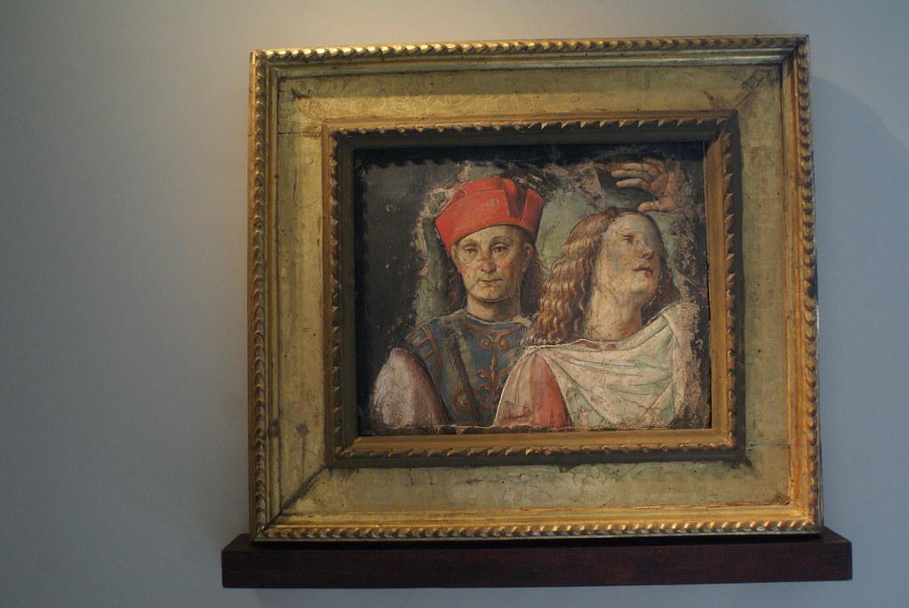 """Francesco Raibolini detto il Francia """"Due volti maschili"""" (1500)"""
