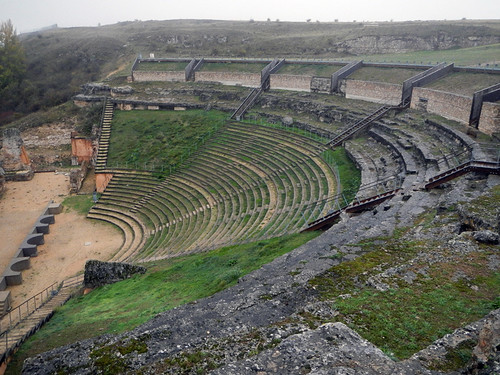 Roman Amphitheatre at Clunia in Spain