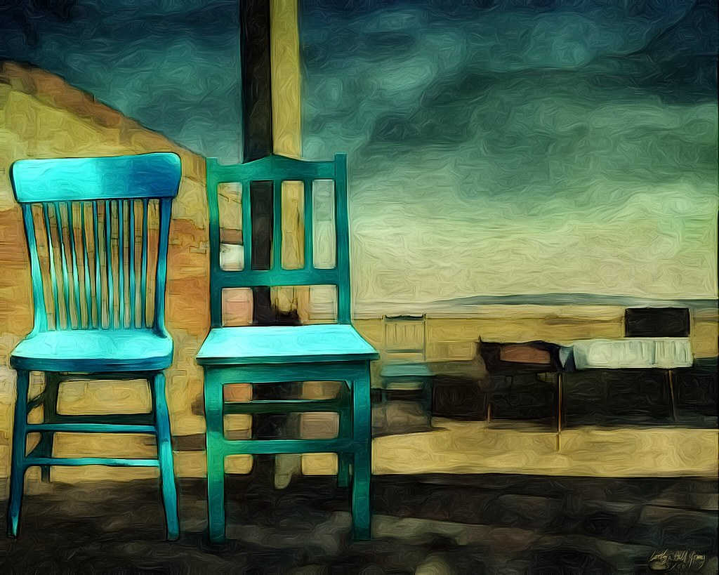 ... Two Chairs: Collab With Gianluca Ricoveri November 1, 2014 | By Carolyn  Hall Young