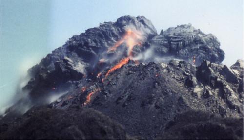 雲仙普賢岳溶岩ドーム