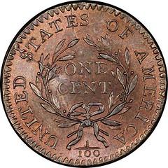 Helfenstein 1794 Sheldon-26 Large Cent reverse