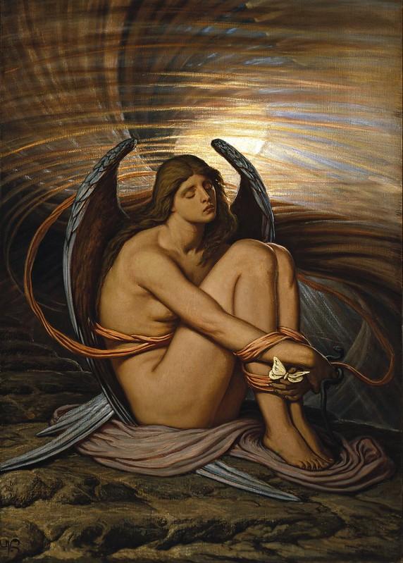 Elihu Vedder - Soul in Bondage (1892)