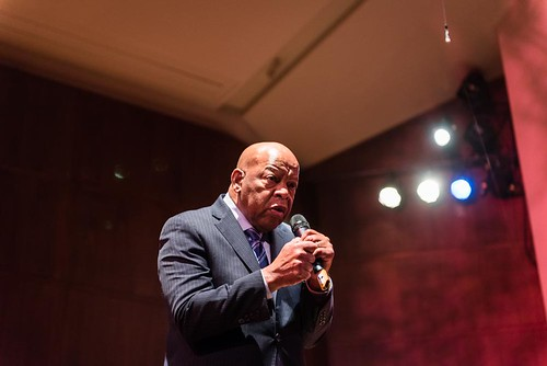 March Trilogy: Congressman Lewis and Authors Speak at Benaroya Hall