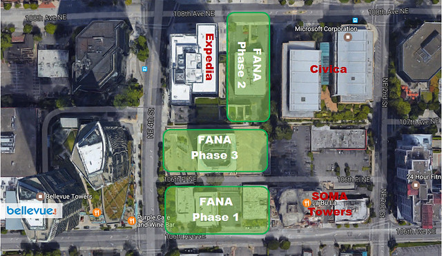 Fana multi-phase project on Bellevue's Entertainment Avenue | Bellevue.com