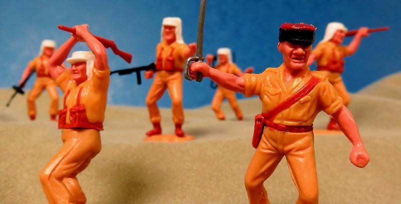 Toy soldiers, cowboys, indians, space men etc 33155726145_b1621b75bd_c