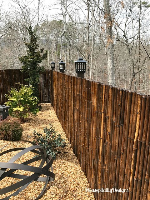 Japanese Garden-Bamboo Fence-Housepitality Designs