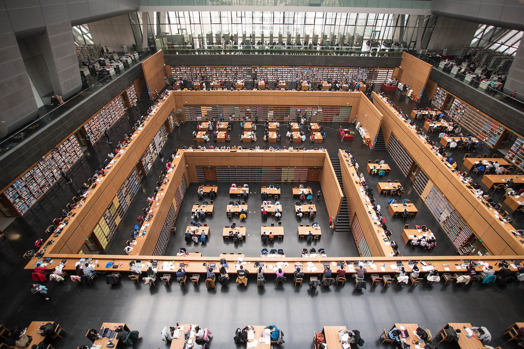 National Library of China - Reading room