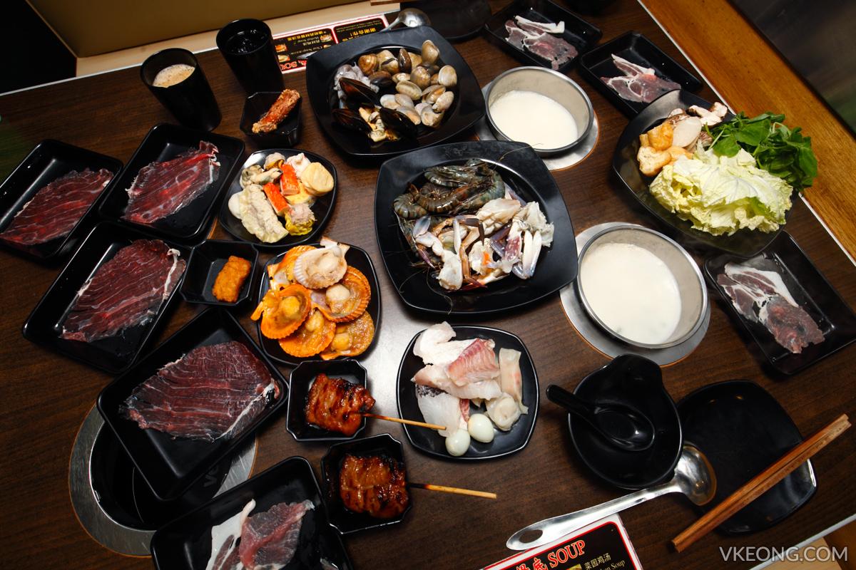 Kepong Steamboat Buffet EatMor Paradise