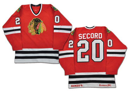 Chicago Blackhawks 1982-83 jersey