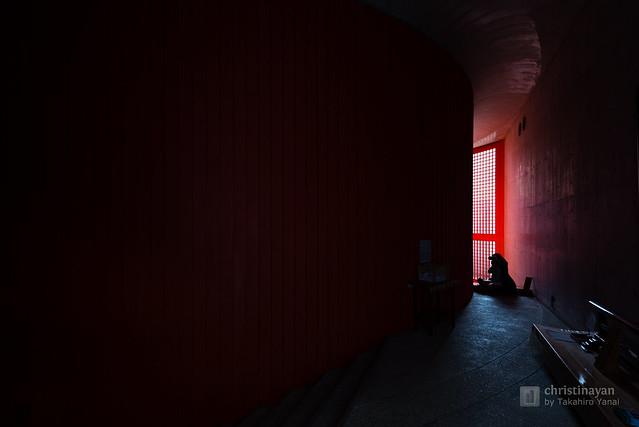 Inside of Hompukuji Temple, Mizumido (本福寺 水御堂)