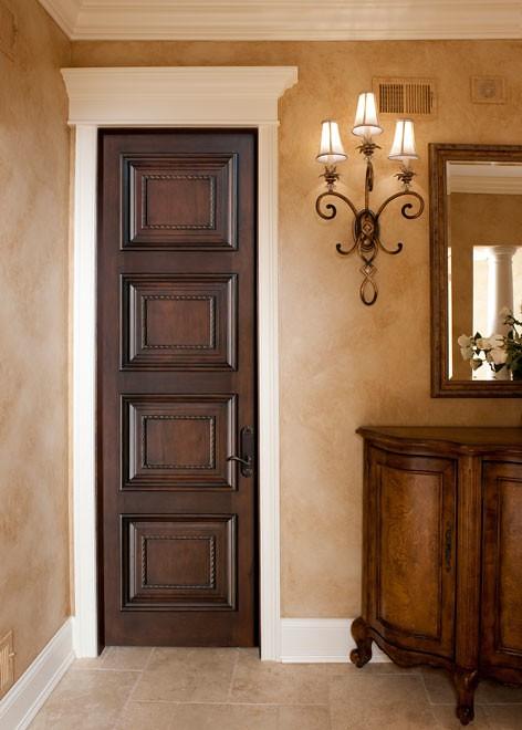 Màu sơn cửa gỗ đẹp, hợp phong thủy