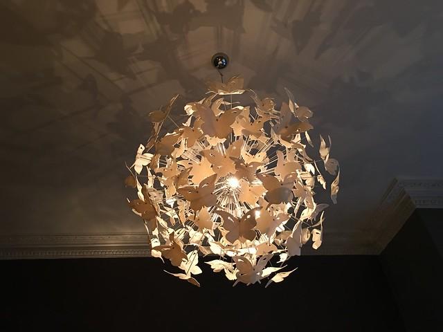 Michelin 026 butterfly chandelier
